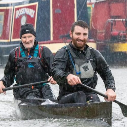 Dorothy House patient takes on incredible 125-mile canoe challenge