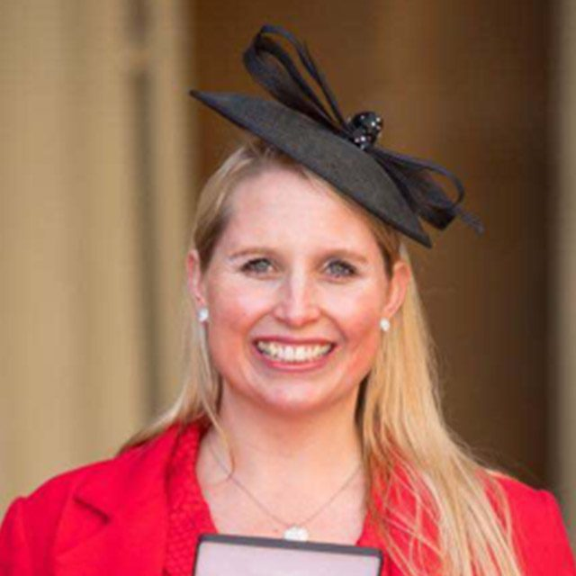 Stephanie Milward MBE